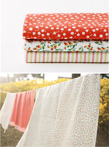 1/4 Fabric 3p Pack - 47 Strawberry